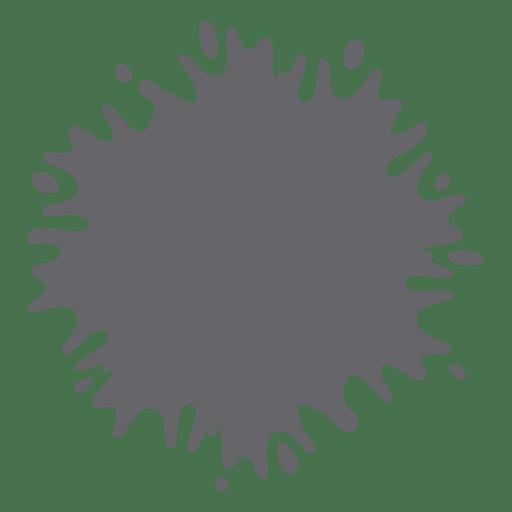 Paint droplet splash splatter Transparent PNG