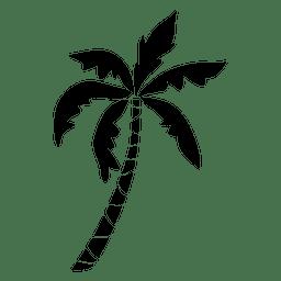 Palm palm palmeira silhueta