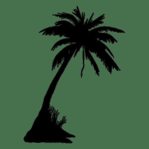 Palmera palmera verano silueta Transparent PNG
