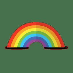 arco-íris colorido