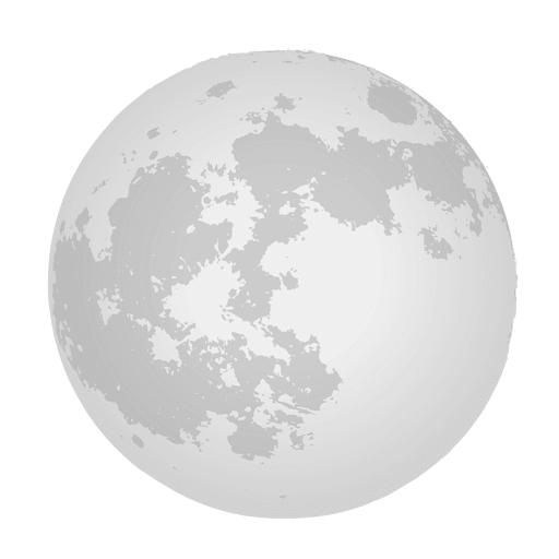 Realistic moon