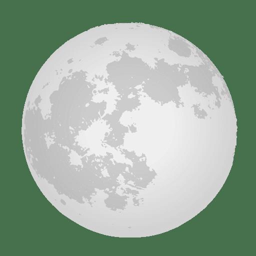 Realistischer Mond