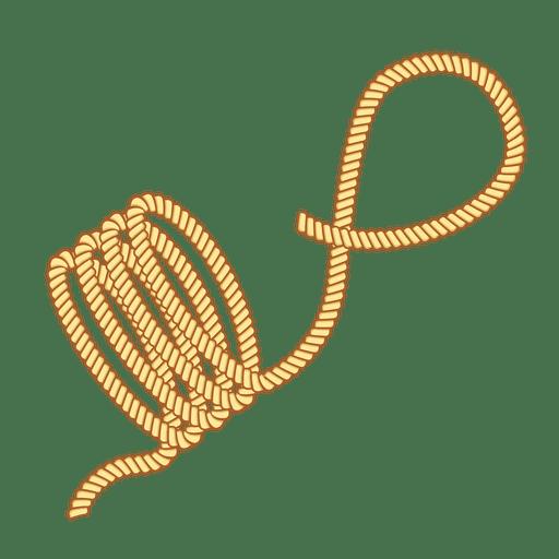 Rope navy sail