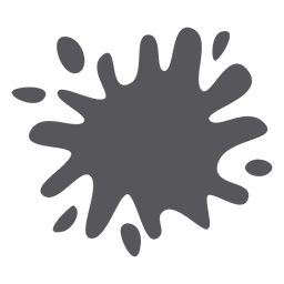 Respingo de tinta splatter