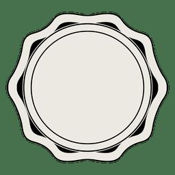 emblema etiqueta do vintage
