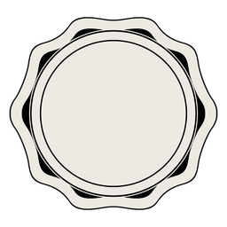 Insignia de la etiqueta de la vendimia