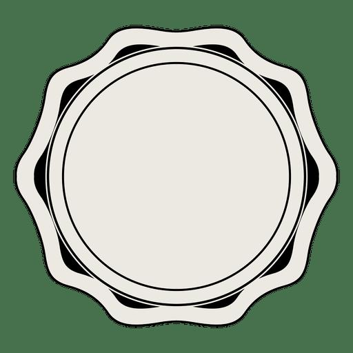 Insignia de la etiqueta de la vendimia Transparent PNG