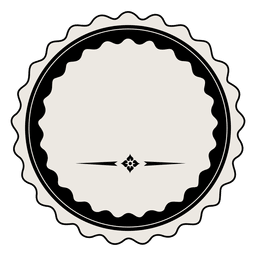 Modelo de distintivo de rótulo vintage