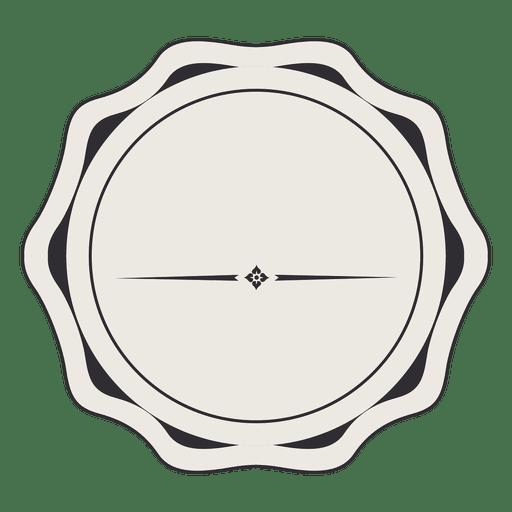 Diseño de la insignia de la etiqueta de la vendimia Transparent PNG