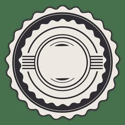 Complejo etiqueta de la etiqueta de la vendimia cinta