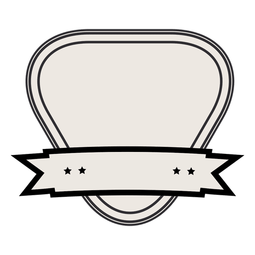 Etiqueta de la cinta de la vendimia Transparent PNG