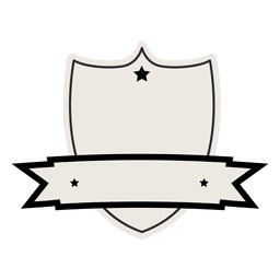 Emblema de la vendimia con la cinta de la etiqueta