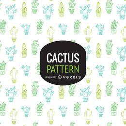 Cactus de fondo o patrón