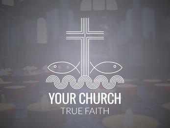 fabricante de design de logotipo religiosa