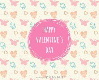 Valentinstag-Plakatbauer