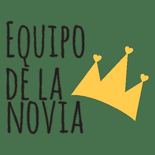Boda española del equipo de novias Transparent PNG