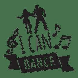 I can dance wedding phrase