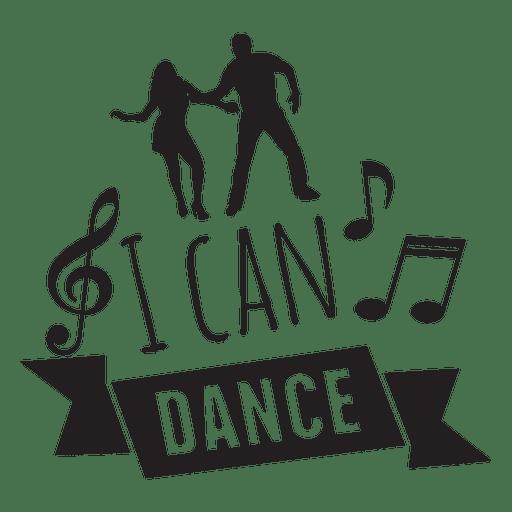Puedo bailar frase de boda Transparent PNG