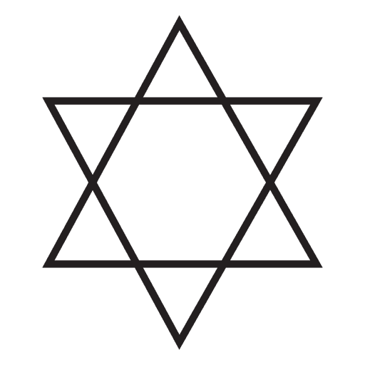 Judaism Religious Symbol Transparent Png Svg Vector