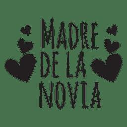 Frase de boda española madre de la novia
