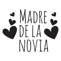 Madre de la novia spanish wedding phrase