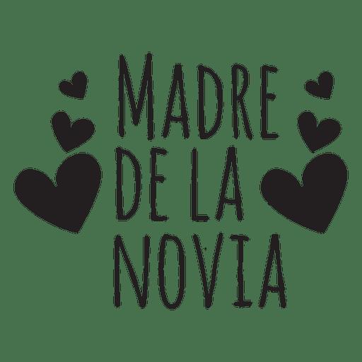 Madre de la novia spanish wedding phrase