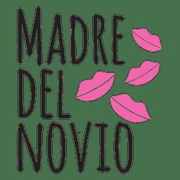Madre del novio de la boda frase española