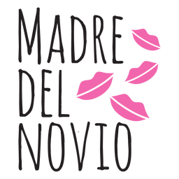 Madre del novio wedding spanish phrase