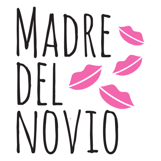 Madre del Novio Hochzeit spanische Phrase