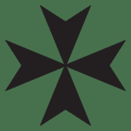 Cruz de religião maltesa
