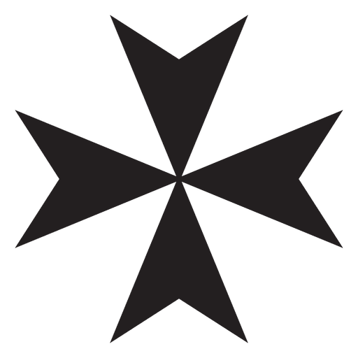 Maltese cross religion Transparent PNG