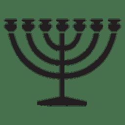 Menorah religión símbolos jewdish