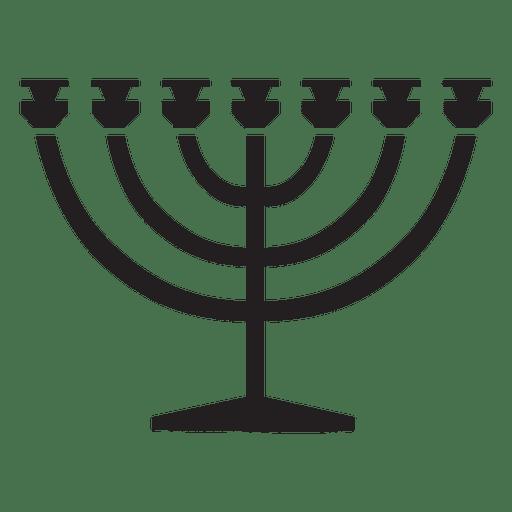Menorah religión símbolos judío