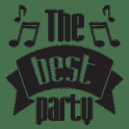 Die beste Partyhochzeit
