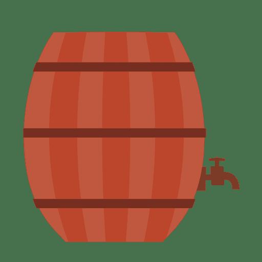 Beer barrel illustration Transparent PNG