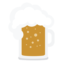 Beer jar illustration