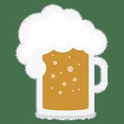 Ilustración de tarro de cerveza