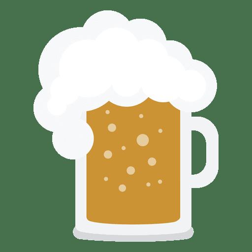 Beer jar illustration