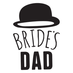 Novia papá boda frase