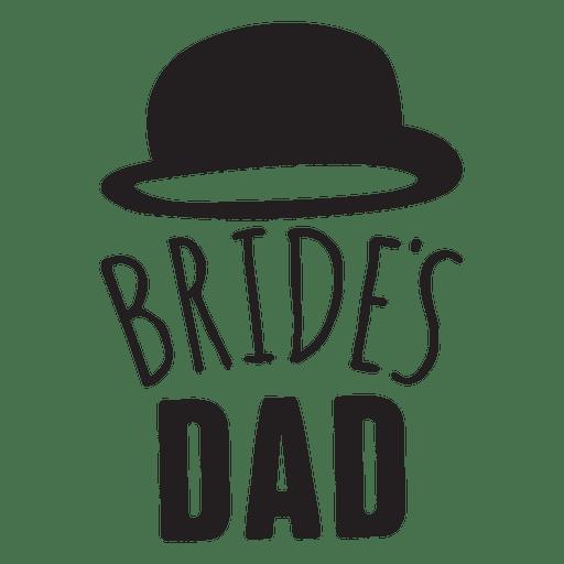 Bride dad wedding phrase