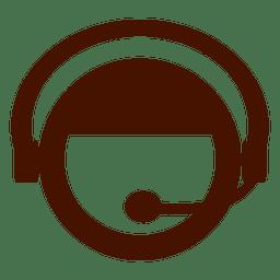 Ícone de chamada de call center