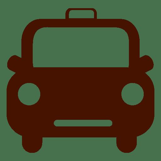 Icono de transporte de taxi de coche Transparent PNG