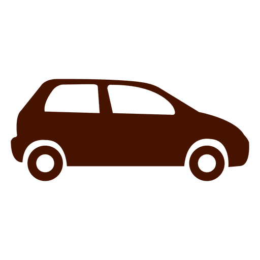 Flache Autotransport-Symbol Transparent PNG