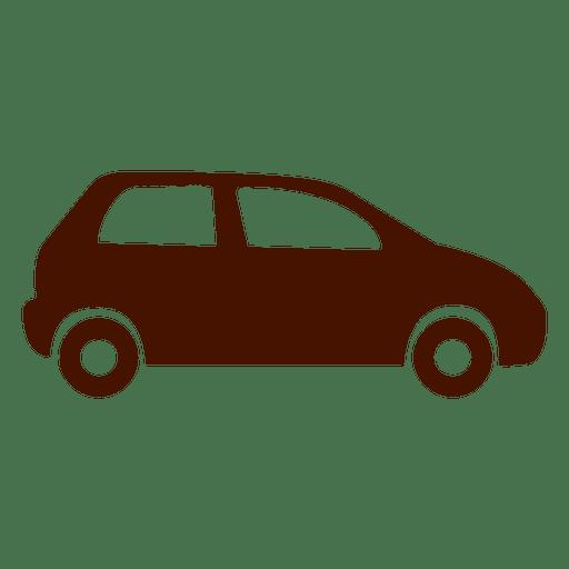 Icono de transporte de coche plano Transparent PNG