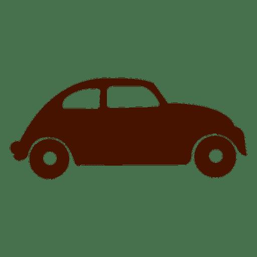 Car transport silhouette