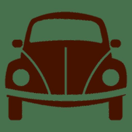 Ícone de transporte de vista frontal do carro Transparent PNG