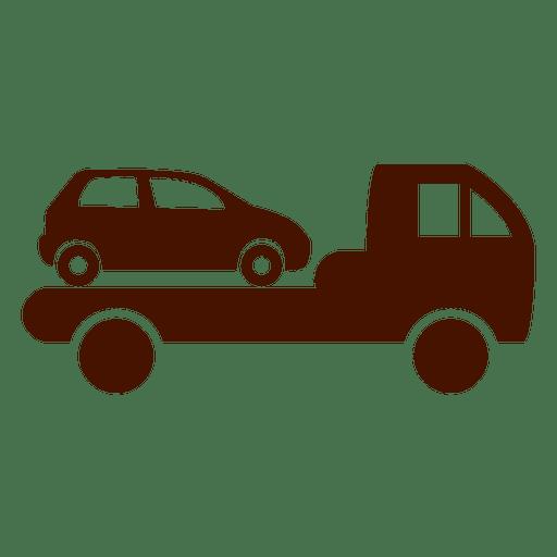 Icono de transporte de camión de coche Transparent PNG