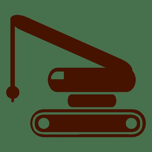 Icono de transporte de construcción Transparent PNG