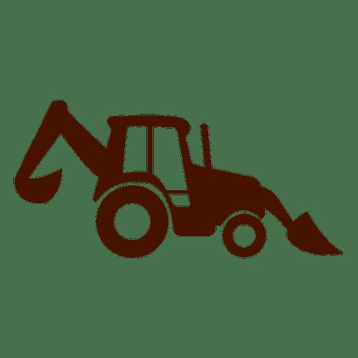 Construction truck icon