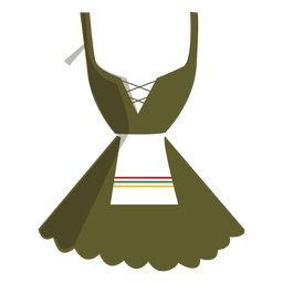 Dirndl típico vestido alemão mulheres